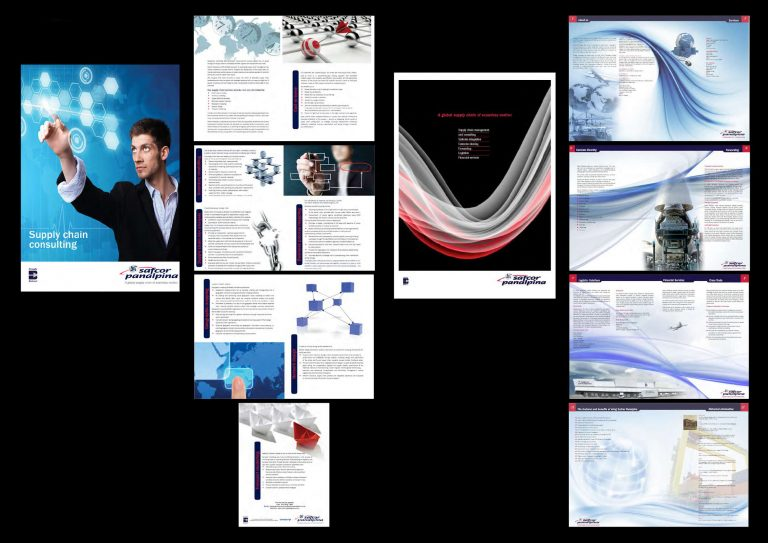 Various Brochures Designed by Caro